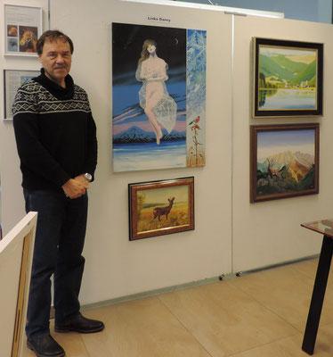 Danny in der Galerie Kitz Art