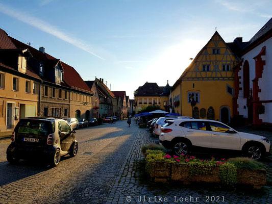 Hauptstraße in Frickenhausen