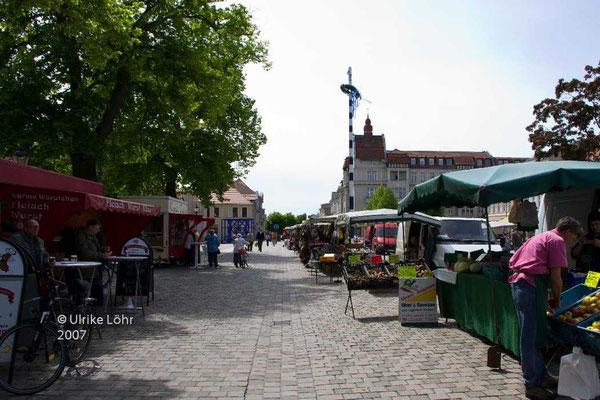 Markt in Neuruppin