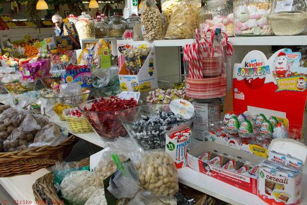 Süßigkeiten auf dem Mercato del Testaccio