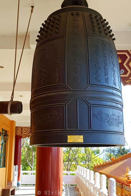 Fo Guang Shan Nan Tien Tempel: Glocke