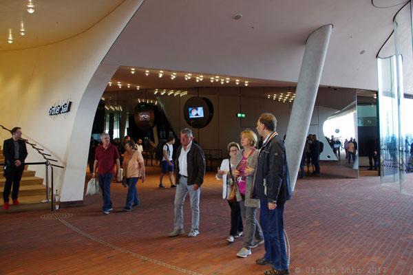 Eingangsbereich der Elbphilharmonie