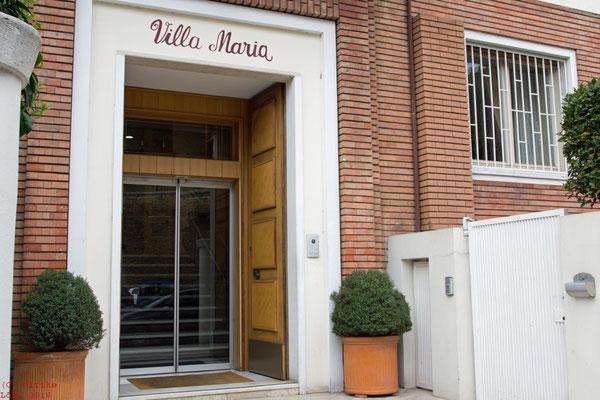 Villa Maria - der Eingang