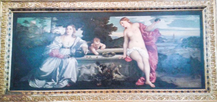 Tizian, Himmlische und irdische Liebe