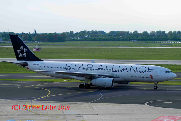 "B-6091 Air China Airbus A330-243 painted in ""Star Alliance (2002)"" special cs"