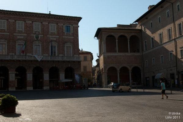 Piazza della Liberta in Macerata