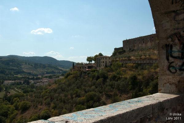 Blick von der Ponte delle torri