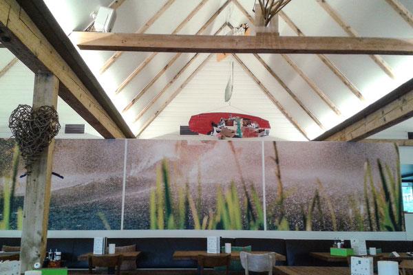 Dekoration im Seehaus