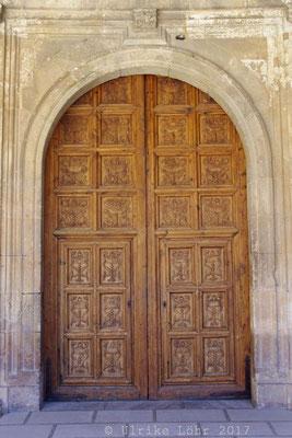 Tür im Palast Karls des Fünften