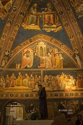 Große Kapelle der Basilica di San Nicola in Tolentino