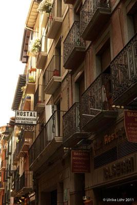 Pamplona Altstadt