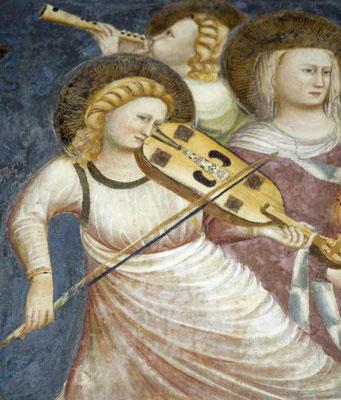 Pietro da Rimini und Schüler: Fresko, um 1318, in der Großen Kapelle der Basilica di San Nicola in Tolentino