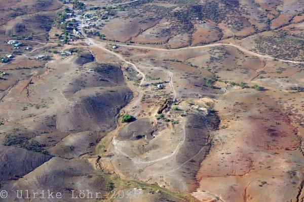 Kupfermine am nördlichen Ende der Stadt Blinman