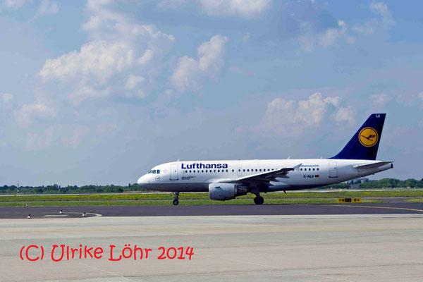 """D-AILE Lufthansa Airbus A319-114 """"Kelsterbach"""""""