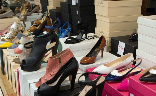 Schuhe auf dem Mercato del Testaccio