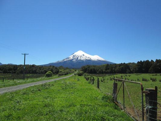Mount Taranaki - Foto Isis alias Paula Parkvogel