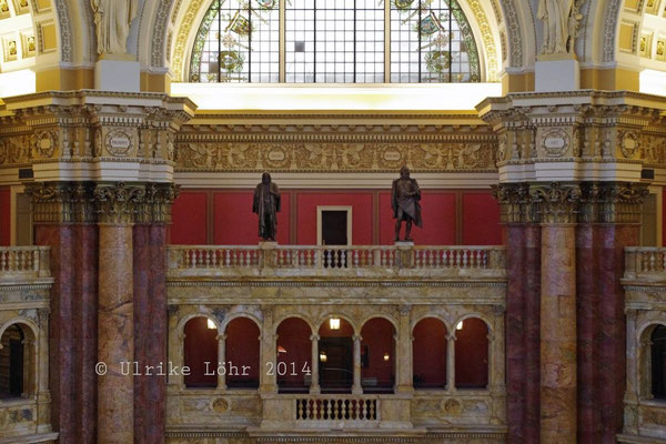 Library of Congress - Kuppelsaal / Lesesaal