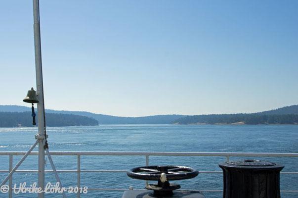 BC Ferries an Deck