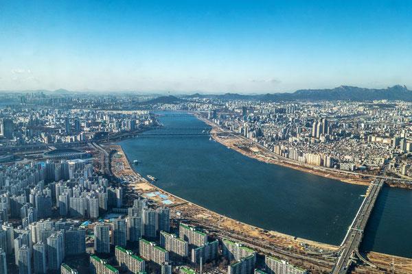 Blick über Seoul - (C)travellicious.de