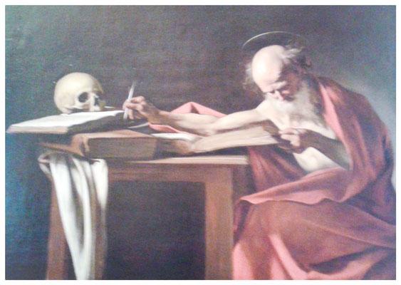 Caravaggio, Der Hl. Hieronymus