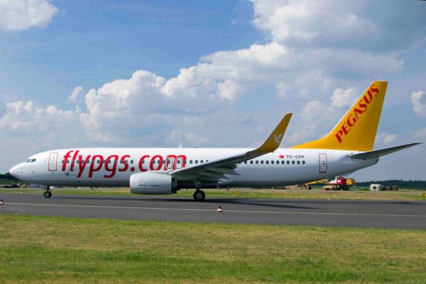 TC-CPK Pegasus Boeing 737-82R(WL)