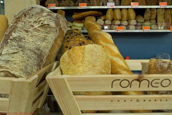 Brot auf dem Mercato del Testaccio