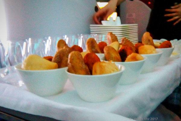 Brotauswahl - gab es zu jeder Mahlzeit an Bord
