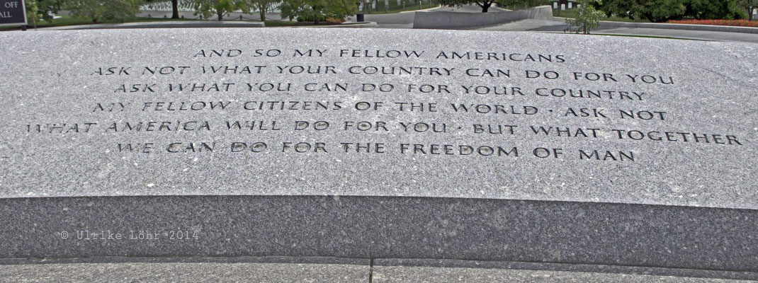 Kennedy Zitat