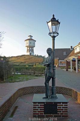Wasserturm und Lale Andersen Denkmal