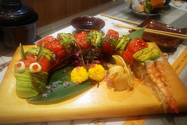 Sushi inBangkok