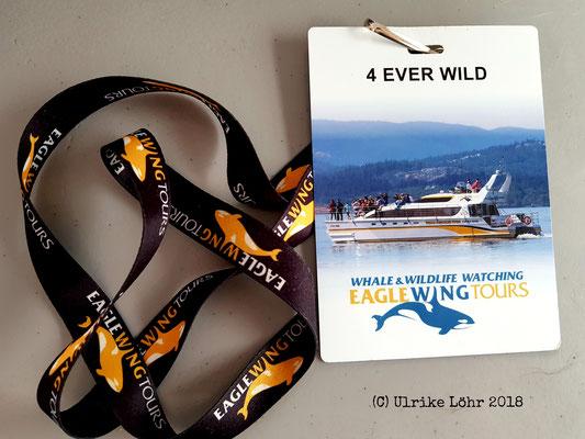 Eagle Wing Tours: Teilnehmerausweis