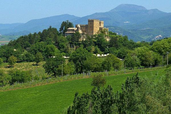 Blick auf Rocca d'Ajello
