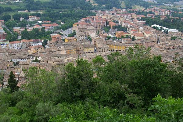 Blick auf San Severino