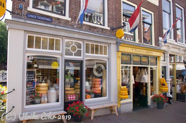 't Kaaswinkeltje,  der etwas andere Käseladen im historischen Zentrum von Gouda