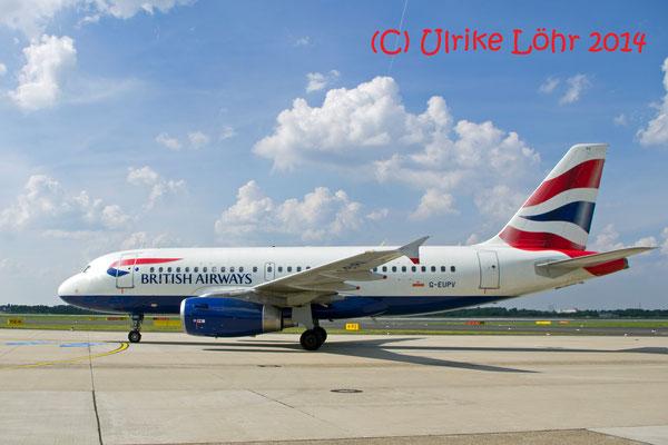 G-EUPV British Airways Airbus A319-131