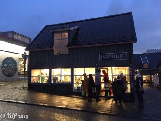 Straßenszenen in Reykjavik