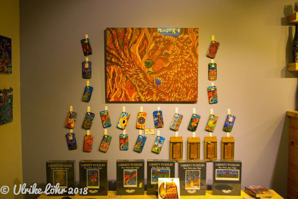 The Vibrant Vine - Verkauf von Merchandise