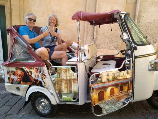 Urlaub mit Gipsbein - das Beste draus machen - (C) Gina&Marcus