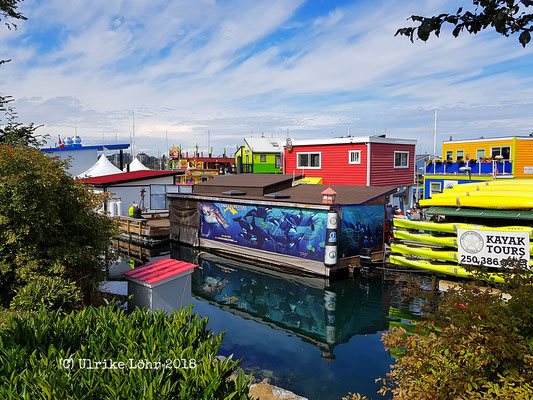 Fisherman's Wharf - die Heimat von Eagle Wing Tours