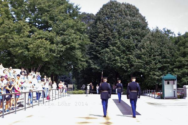 Wachablösung der Ehrengarde