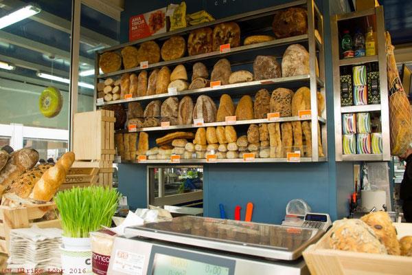 Brotstand auf dem Mercato del Testaccio