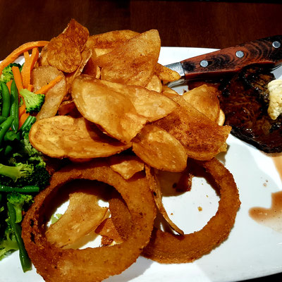 6oz Sirloin in MR MIKES Steakhouse Casual in Hinton, Alberta