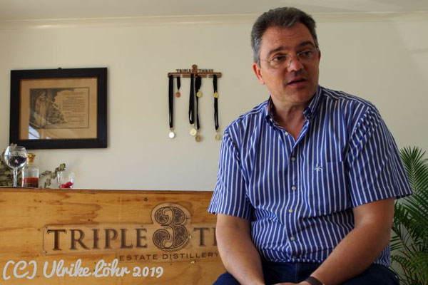 Rolf Zeitvogel, Triple Three Gin