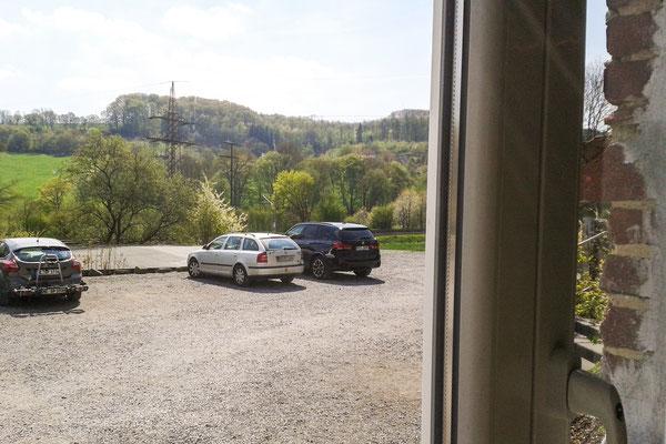Blick aus dem Fenster des Spargelhof Kuhlendahl