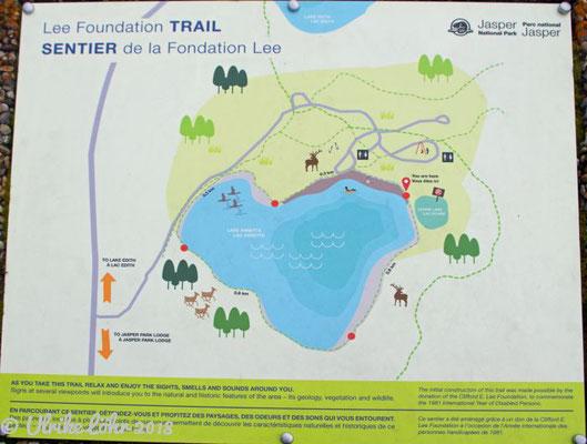 Lee Trail für Menschen mit Mobilitätsbehinderung