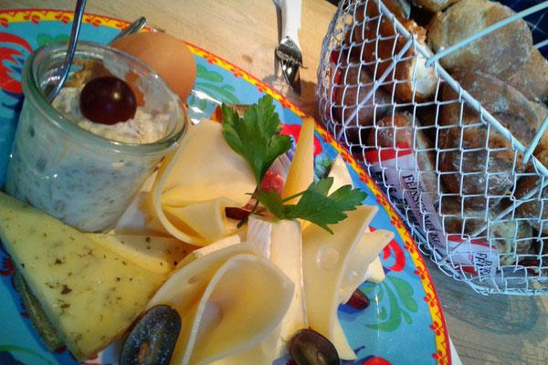 """Frühstück """"Käse Exquisit"""""""