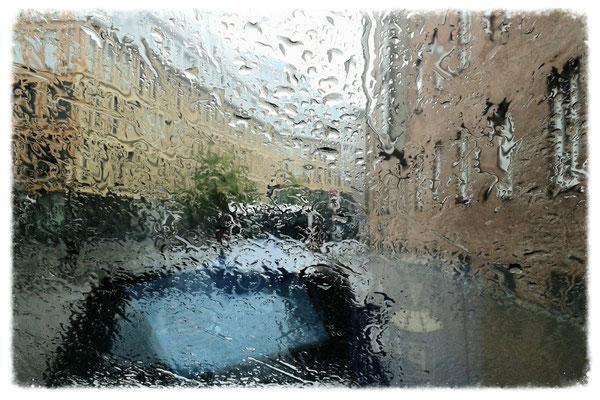 München im Regen