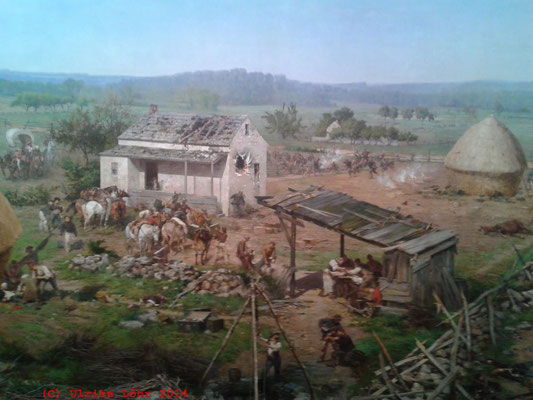 Paul Philippoteaux: The Gettysburg Cyclorama (Ausschnitt)