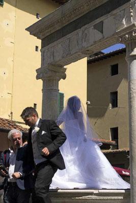 Brautpaar in Pistoia
