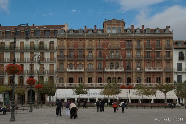 Plaza del Castillo in Pamplona